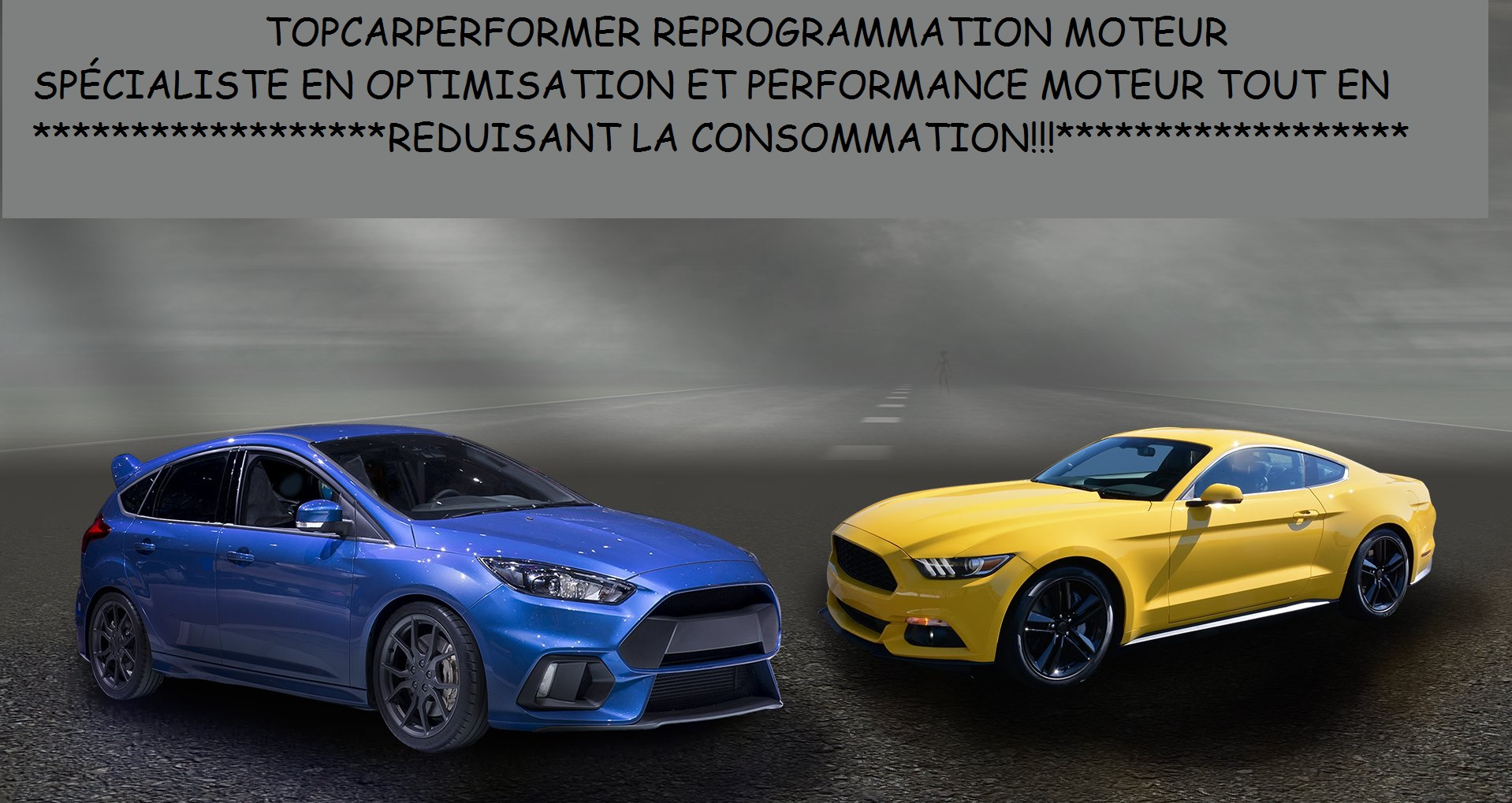 Ford mustang focus rs 1