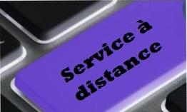 Service a distance